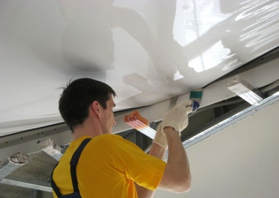 Натяжные потолки своими руками: чему придется научиться
